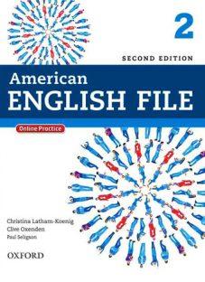 کتاب متد انگلیسی American English File2 2nd Edition