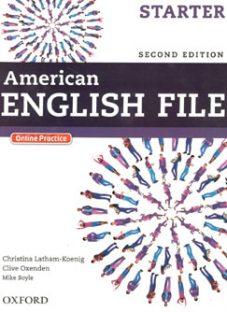 کتاب متد انگلیسی American English File Starter 2nd Edition