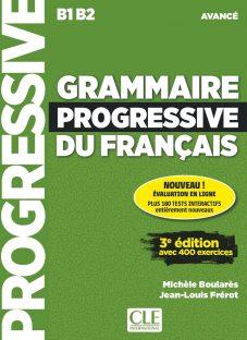 کتاب کمک آموزشی فرانسه Grammaire Progressive Avanve