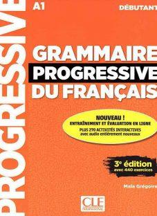 کتاب کمک آموزشی فرانسه Grammaire Progressive Debutant