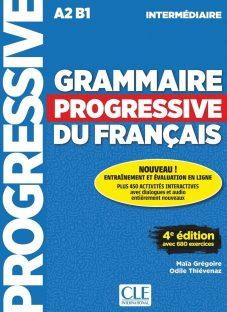 کتاب کمک آموزشی فرانسه Grammaire Progressive Intermediaire
