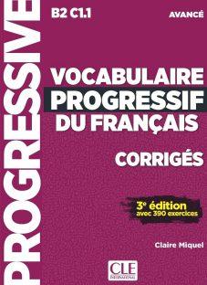 کتاب کمک آموزشی فرانسه Vocabulaire Progressif Avance