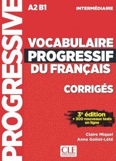 کتاب کمک آموزشی فرانسه Vocabulaire Progressif Intermediaire