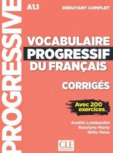 کتاب کمک آموزشی فرانسه Vocabulaire Progressif Debutant Complet